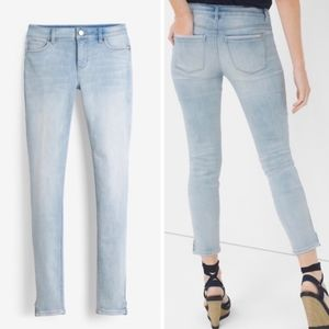 White House Black Market Skinny Crop Jeans